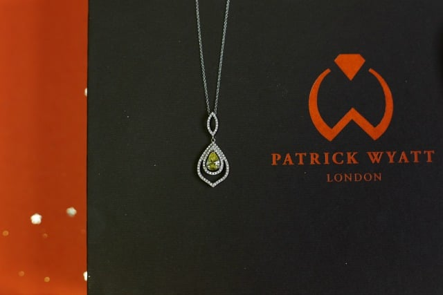 Patrick Wyatt Jewellery Boxes - Hatton Garden - Christmas 2017